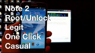 NEW One Click Verizon Galaxy Note 2 4.1.2 ROOT / Unlock Bootloader / Recovery Guide