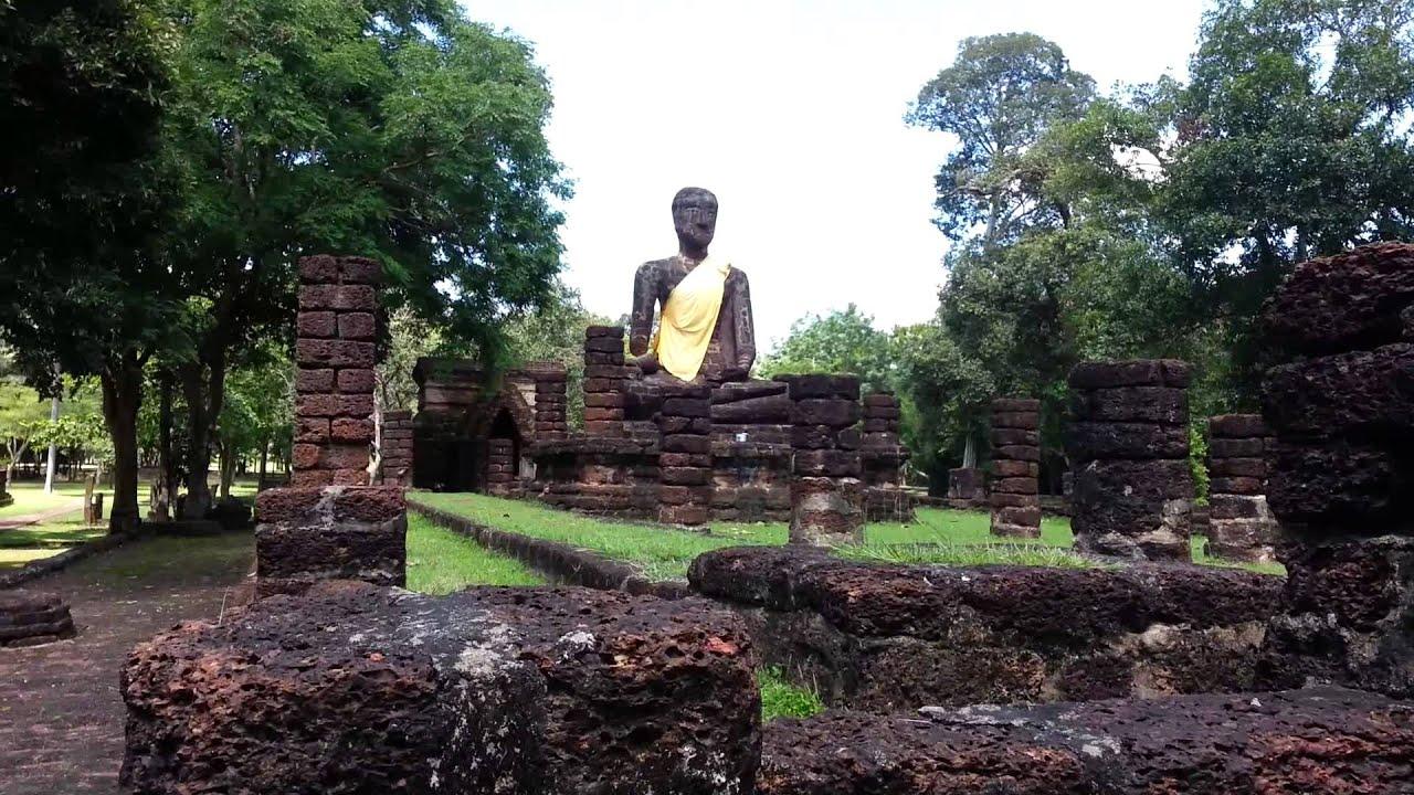 Exploring Kamphaeng Phet Historical Park - YouTube