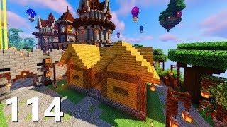 Każde Miasto MUSI Mieć Ratusz! - SnapCraft III - [114] (Minecraft 1.14 Survival)