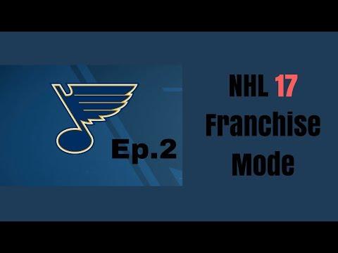Good regular season/Playoffs? - St.Louis Blues S1 Ep.2 - NHL 17 Franchise Mode