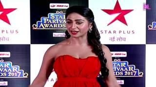 Mohena singh | Red carpet | Star Parivaar Awards 2017
