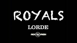 Lorde - Royals (Official Instrumental)