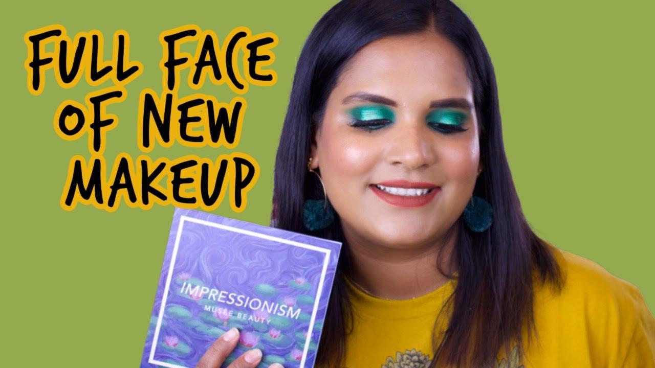 Tan Girl Tries New Makeup | Musee Beauty, SALT New York, Eyelash Glue Eyeliner | Karen Harris Makeup
