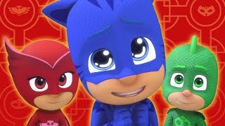 PJ Masks Episode Chinese New Year Cartoons for Kids