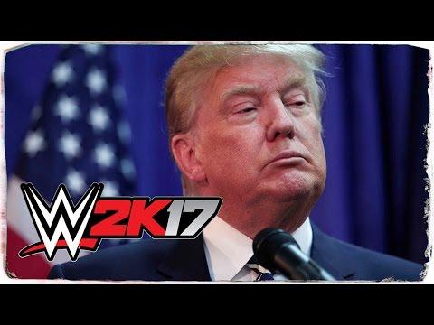 Donald Trump - WWE 2K17 CAW [WRESCAW #016] (DEUTSCH/GERMAN)
