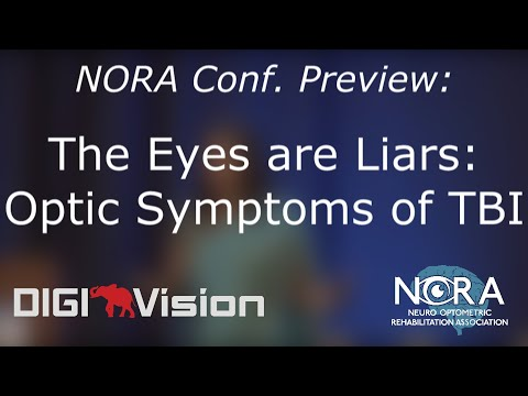 The Eyes are Liars: Diagnosis and Management of Optic Symptoms of TBI
