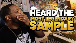 heard the most legendary sample (making a boom bap beat)