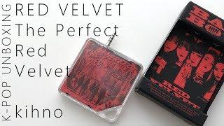 Red Velvet The Perfect Red Velvet kihno kit (+ Photocard Reveal) | Unboxing