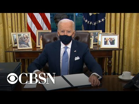 President Biden making environmental issues and climate change a priority