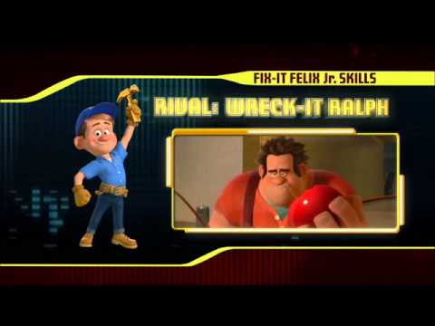 WRECK IT RALPH Game Changers - Fix It Felix