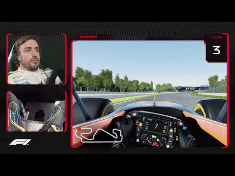 Fernando Alonso's Virtual Hot Lap of Spain | 2018 Spanish Grand Prix