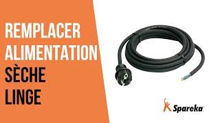 Comment réparer votre sèche-linge - Remplacer le câble d'alimentation ?