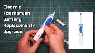 Ep 33 Electric Toothbrush Battery Replacement/Upgrade