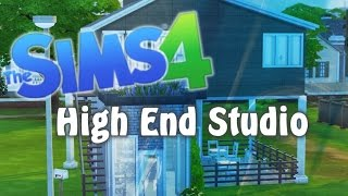 The Sims 4: Speed Build - High End Studio