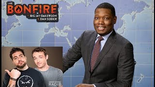 The Bonfire Michael Che Gronk Comedy w/ Video BIg Jay Oakerson and Dan Soder 2017 Video