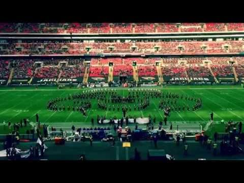The Ohio State University Marching Band takes over Wembley Stadium