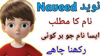 Naveed Name Meaning In Urdu Boy Name نوید
