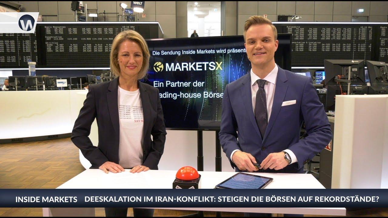 Inside MarketsX: Iran-Konflikt - Steigen die Börsen auf Rekordstände?