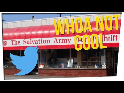 Homeless Woman Tweets of Terrible Treatment at Salvation Army ft. DavidSoComedy