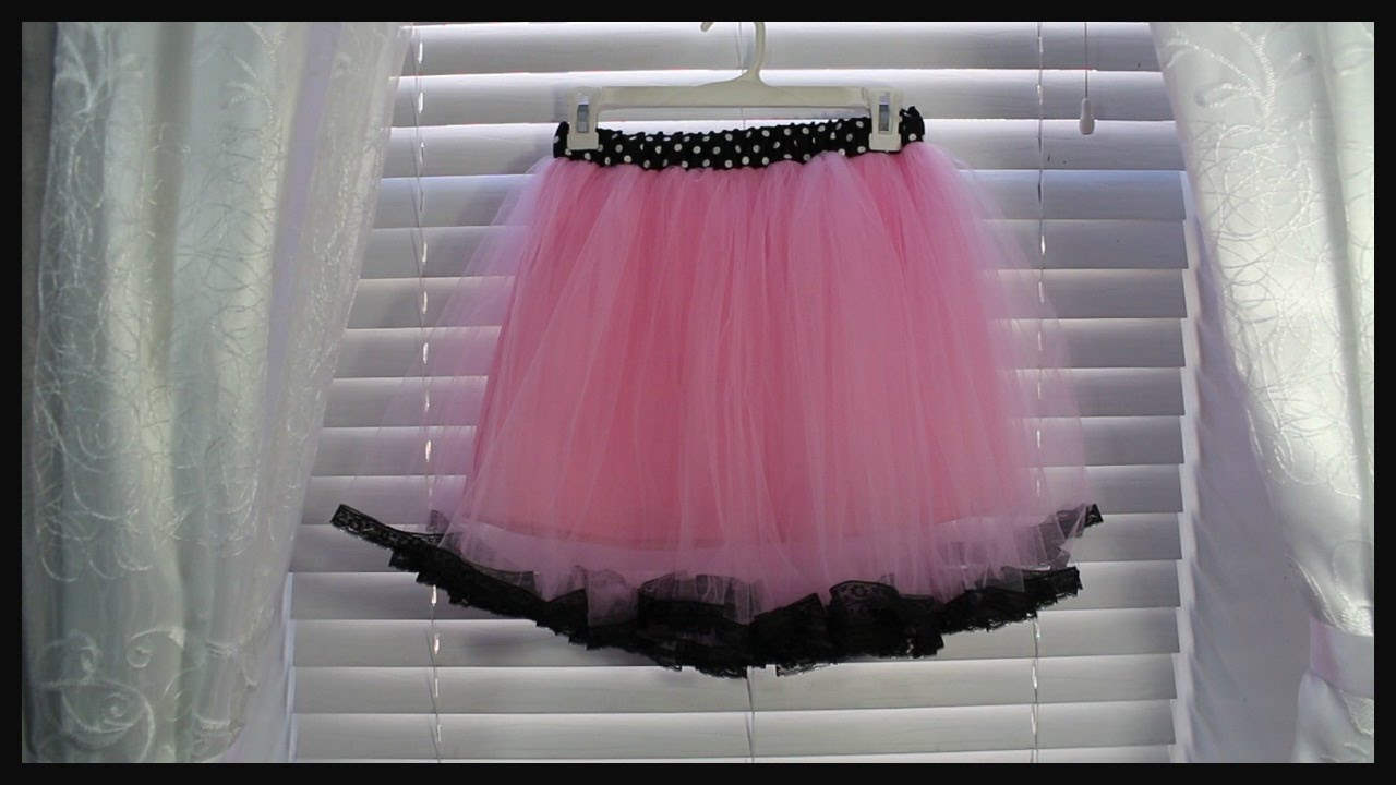 Diy como hacer falda tutus para ni a youtube for Como construir estanques para peces