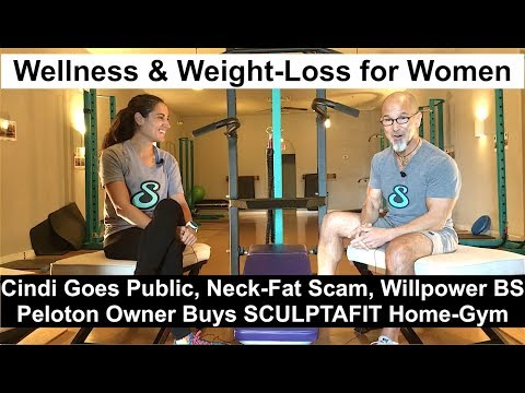 cindi's-wild-weight-loss-|-peloton-bike-owner-buys-sculptafit-home-gym-|-what-nikki-ate-|-neck-fat
