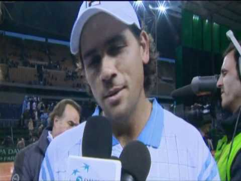 Davis Cup Interview: David Nalbandian and Eduardo Schwank
