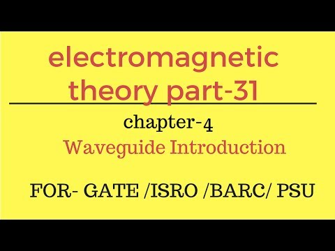 Waveguide Introduction EMT Part-31 for gate ese psu in hindi