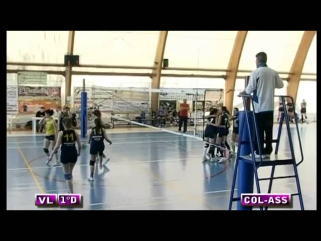 Colonnetta vs Assport Roma 3 Piva - 1° Set