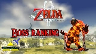 Twilight Princess - Boss Ranking