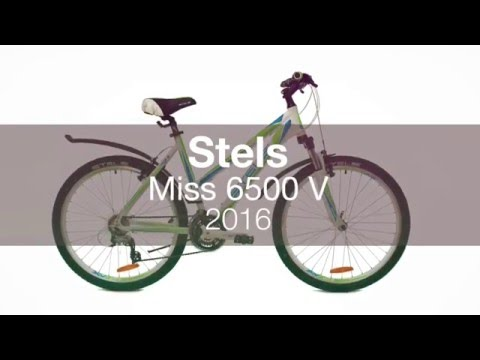 Женский велосипед Stels Miss 6500 V 2016.  Обзор