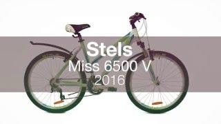 Женский велосипед Stels Miss 6500 V 2016. Обзор(Stels Miss 6500 V подробнее: http://www.velostrana.ru/stels/miss-6500-v/ Велосипед Stels Miss 6500 V линейки 2016 года. Пружинно-эластомерная..., 2016-04-26T08:38:59.000Z)