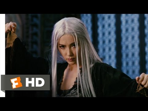 The Forbidden Kingdom (8/10) Movie CLIP - Seeker Vs. Witch (2008) HD
