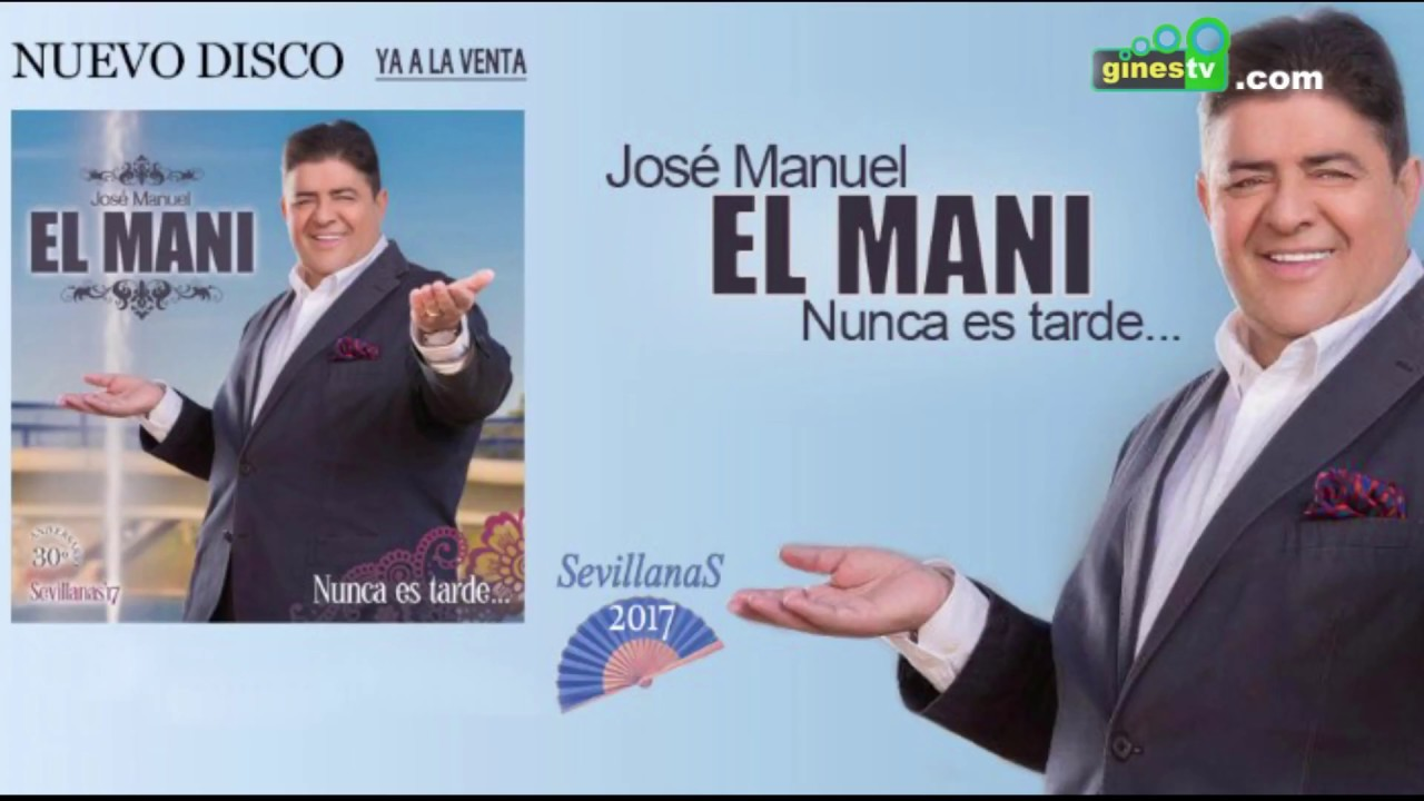 """""""El Mani"""" celebra sus 30 años de sevillanas con la presentación de su nuevo disco en Gines"""