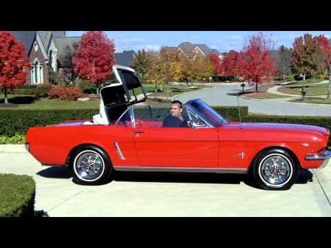 1965 Ford Mustang Convertible 289 Classic Muscle Car for Sale in MI