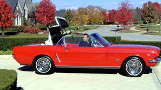 1965 Ford Mustang Convertible 289 Classic Muscle Car for Sale in MI Vanguard Motor Sales