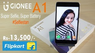 Gionee A1 Unboxing & Overview- In Hindi
