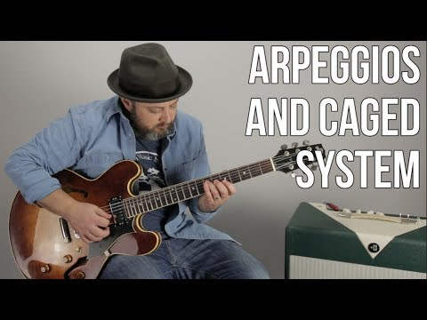 Arpeggios And Caged Lesson - Basic Theory For Guitar