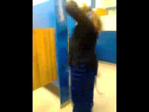 girl twerking in school bathroom youtube With girl twerking in bathroom