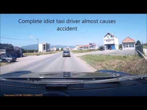 Crazy American driver in Kosovo