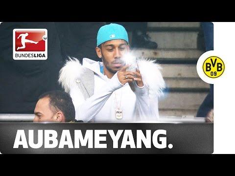 Ice Cool Aubameyang Turns the Swag on!!!