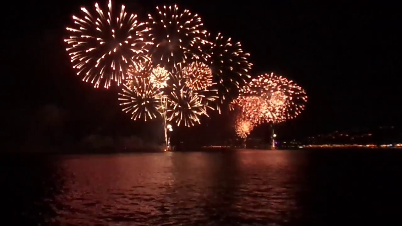 Fuegos Artificiales Ano Nuevo 2017 Vina Del Mar Youtube