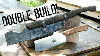 How to Make: RAZOR SHARP Lawn Mower Blade CLEAVERS!