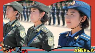 INILAH RAHASIA LATIHAN PARADE MILITER CHINA