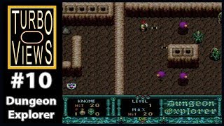 """Dungeon Explorer""  -  Turbo Views #10 (TurboGrafx-16 / Duo game REVIEW!)"