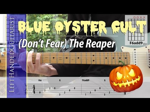 Quick riffs: Don't Fear the Reaper [Blue Oyster Cult] intro guitar lesson