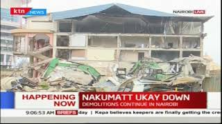 Nakumatt Ukay center down: demolitions continue