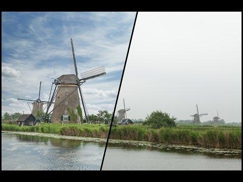 Замена неба в Photoshop