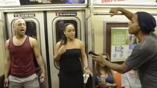 Мюзикл Король лев в нью йоркском метро