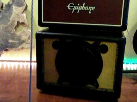 EarCandy Mr Watts 1x8 Guitar speaker cab 1970 strat and Epiphone valve junior