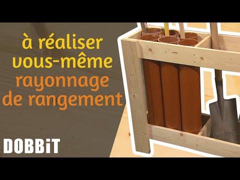 Realisez Vous Meme Un Rayonnage De Rangement Pratique Pour Vos Outils De Jardinage Youtube